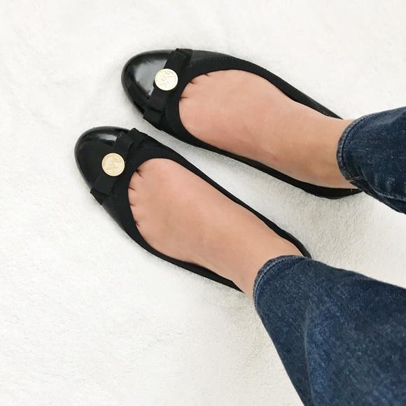 c7d3702bb0 Michael Kors Shoes | Micheal Kors Black Ballet Flats | Poshmark